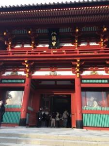 20180131鶴岡八幡宮